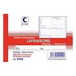 Elve Carnet de Livraisons, format A6