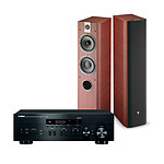 Yamaha MusicCast R-N402D Noir + Focal Chorus 714 Rosewood