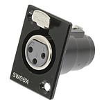 Sweex Support XLR Femelle