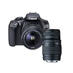 Canon EOS 1300D + EF-S 18-55 mm DC III + SIGMA 70-300mm f/4-5.6 DG Macro