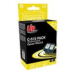 UPrint C-512B-PACK 2 BK (Noir)