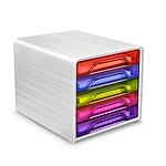 CEP Smoove Bloc de classement 5 tiroirs multicolore