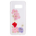 Flavr iPlate Real Flower Grace Galaxy S8