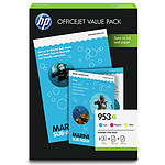 HP 953XL Office Value Pack Cyan, Magenta, Jaune (1CC21AE)