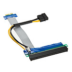Kolink Adaptador horizontal (elevador) PCI-Express 1x a 16x - Mantel 190 mm