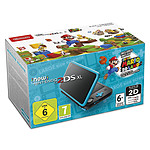 Nintendo New 2DS XL (Noir/Turquoise) + Super Mario 3D Land