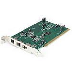 StarTech.com Carte 3 ports PCI 1394b FireWire avec kit d'édition vidéo numérique
