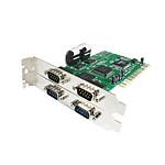 StarTech.com Carte PCI avec 4 ports Série RS232
