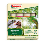 Edding EcoLine e24 - set de 4 couleurs
