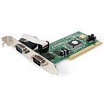 StarTech.com Carte PCI avec 2 ports DB 9 UART 16550
