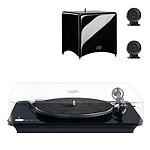 Elipson Omega 100 RIAA Noir + Cabasse Stream 3 Noir