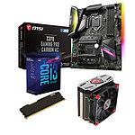 Kit Upgrade PC Core i3K MSI Z370 GAMING PRO CARBON AC 4 Go