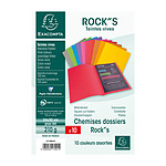 Exacompta Chemises Rock''s - 24 x 32 cm x 10