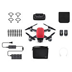 DJI Spark Fly More Combo Rouge