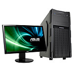 "LDLC PC Fortress + ASUS 24"" LED 3D - VG248QE"