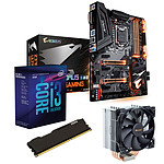 Kit Upgrade PC Core i3K Gigabyte Z370 AORUS Ultra Gaming 4 Go