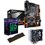 Kit Upgrade PC Core i5K Gigabyte Z370 AORUS Ultra Gaming 4 Go