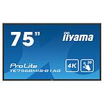 "iiyama 75"" LED - Prolite TE7568MIS-B1AG"