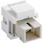 Goobay coupleur fibre optique SC Simplex pour boitier réseau type Keystone