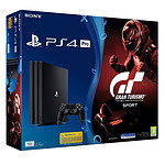 Sony PlayStation 4 Pro (1 To) + Gran Turismo Sport
