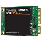 Samsung SSD 860 EVO 500 Go mSATA