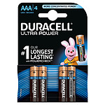 Duracell Ultra Power AAA (por 4)