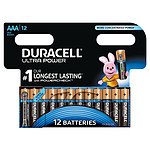 Duracell Ultra Power AAA (por 12)