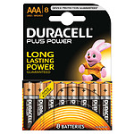 Duracell Plus Power AAA (por 8)