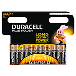 Duracell Plus Power AAA (por 12)