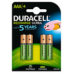 Duracell Recharge Ultra AAA 850 mAh (por 4)
