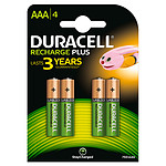Duracell Recharge AAA 750 mAh (por 4)