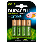 Duracell Recharge Ultra AA 2500 mAh (por 4)