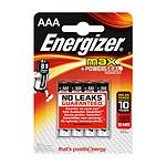 Energizer Max AAA (par 4)