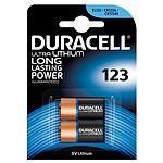 Duracell Ultra 123 Lithium 3V (por 2)