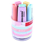 STABILO Boss Original -  Pot de 6 surligneurs pastel assortis