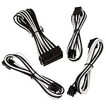 BitFenix Alchemy - Cable Kit Extension - blanco y negro