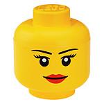 LEGO Tête de Rangement Fille S