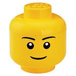 LEGO Tête de Rangement Garçon L