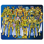 Tapis Saint Seiya - Chevaliers d'or