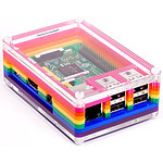 Pimoroni Pibow 3 Rainbow