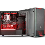 Cooler Master MasterBox E500L Windows Rouge