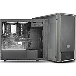 Cooler Master MasterBox E500L Windows Argent