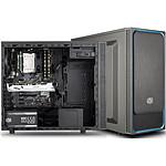 Cooler Master MasterBox E500L Bleu