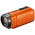 JVC GZ-R405 Orange + carte mémoire SD 8 Go