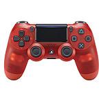 Sony DualShock 4 v2 (Crystal Rojo)