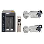 QNAP TS-253A-4G + 2x Hikvision DS-2CD2620F-IZ