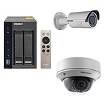 QNAP TS-253A-4G + Hikvision DS-2CD2620F-IZ + Hikvision DS-2CD2720F-IZ