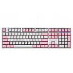 Ducky Channel One (coloris rose - Cherry MX Speed Silver)