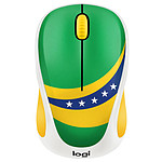 Logitech M238 Wireless Mouse Fan Collection Brésil