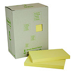 Post-it Bloc tour de 16 blocs de 100 feuillets 76 x 127 mm Recyclés